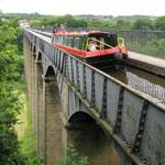 O aqueduto Pontcysyllte, no norte de Gales, é um Patrimônio da Humanidade