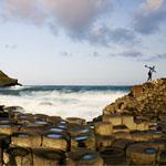 Calçada dos Gigantes, na costa da Irlanda do Norte, é um Patrimônio da Humanidade
