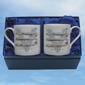 V-Force - Bone China Mug Sets