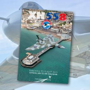 Air to Air Photography Booklet of XH558