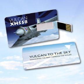 Credit Card type Memory Stick