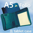 A5 Folio case (with tablet pocket)