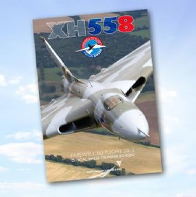 XH558 Farewell to Flight Booklet