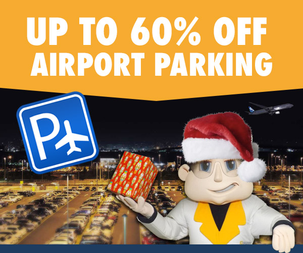 Up to 60% off your airport parking when you pre-book with SkyParkSecure.com
