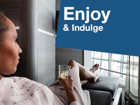 Pre-Book an airport lounge through SkyParkSecure.com