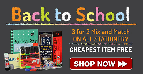 3 for 2 back to school