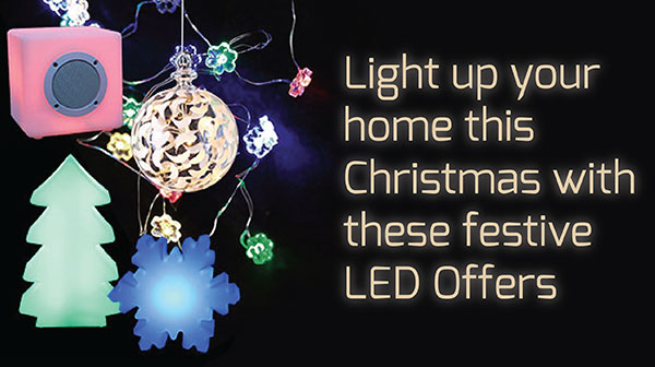 festive led lighting