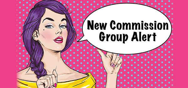 new affiliate commission group