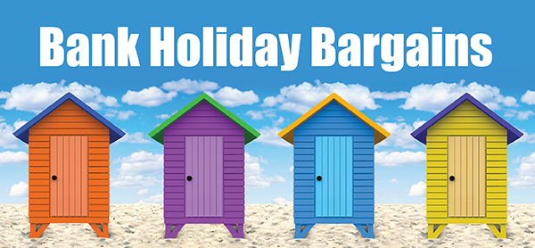 bank holiday weekend bargains
