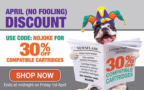 April Fools Discount