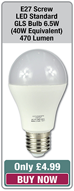 e27 screw led bulb