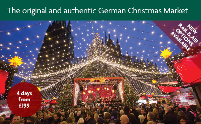 Fancy visiting a Christmas Market Abroad with a Cruise on the River Rhine?