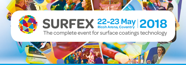 SURFEX. The Complete Event for Surface Coatings Technology.