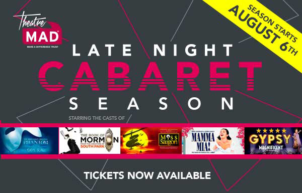 Late Night Cabaret Season - Live in the Delfont Room, The Company of...
